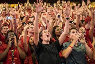 This year's class was selected from the most applicants in USC history. (USC Photo/Michael Owen Baker)